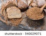 plenty of sliced bread... | Shutterstock . vector #540029071