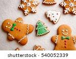 beautiful christmas background... | Shutterstock . vector #540052339