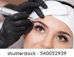 permanent makeup. permanent... | Shutterstock . vector #540052939