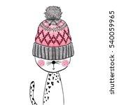 cat perfect for t shirt print | Shutterstock .eps vector #540059965