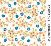 simple cute pattern in small... | Shutterstock .eps vector #540110521