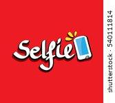 taking selfie photo on smart...   Shutterstock .eps vector #540111814