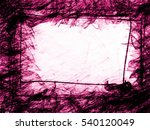 purple geometry frozen line... | Shutterstock . vector #540120049