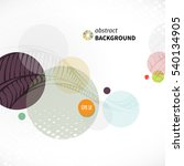 modern abstract background with ...   Shutterstock .eps vector #540134905