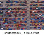 container container ship in... | Shutterstock . vector #540164905