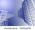 abstract architecture | Shutterstock . vector #54016678