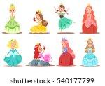 princess character design | Shutterstock .eps vector #540177799