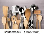 kitchen utensil. | Shutterstock . vector #540204004