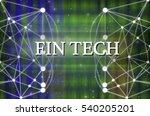 fin texh text on technology... | Shutterstock . vector #540205201