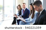 business people waiting for job ... | Shutterstock . vector #540221359