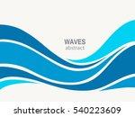 marine pattern with stylized