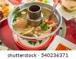 fish soup  tom yum fish ...   Shutterstock . vector #540236371