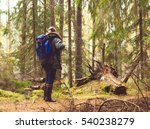 camp  adventure  traveling and... | Shutterstock . vector #540238279