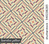 pattern of geometric shapes. ... | Shutterstock .eps vector #540238285