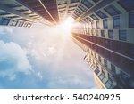 futuristic architecture... | Shutterstock . vector #540240925