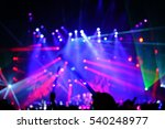 defocused entertainment concert ... | Shutterstock . vector #540248977