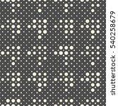 seamless diagonal pixel pattern.... | Shutterstock .eps vector #540258679