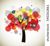 vector tree | Shutterstock .eps vector #540262861