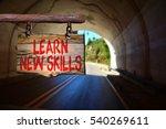 learn new skills motivational... | Shutterstock . vector #540269611