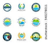 lake logo | Shutterstock .eps vector #540278011