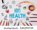 men's health concept. healty... | Shutterstock . vector #540299749