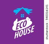 vector logo house | Shutterstock .eps vector #540316141