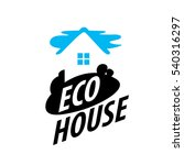 vector logo house | Shutterstock .eps vector #540316297