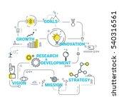 vector business concept... | Shutterstock .eps vector #540316561