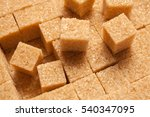 Brown Sugar Cubes. Food...
