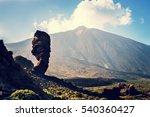 roques de garcia and el teide... | Shutterstock . vector #540360427