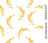 raster illustration  pattern... | Shutterstock . vector #540361447