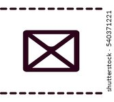 mail icon   Shutterstock .eps vector #540371221