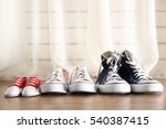 family concept. shoes for... | Shutterstock . vector #540387415
