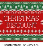 merry christmas and new year... | Shutterstock .eps vector #540399571