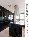 luxurious  spacious kitchen... | Shutterstock . vector #540399697
