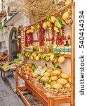 amalfi  italy   september 12 ... | Shutterstock . vector #540414334