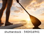 Stand Up Paddle Boarding On A...