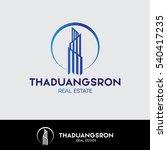 real estate logo | Shutterstock .eps vector #540417235