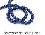 gemstone strand necklace. | Shutterstock . vector #540441454