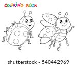 Coloring Book Or Page With...