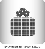 icon of a gift | Shutterstock .eps vector #540452677
