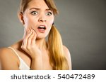 dental care and toothache.... | Shutterstock . vector #540472489