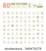 vector graphic set. icons in... | Shutterstock .eps vector #540473179