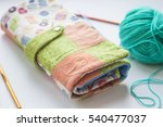 female bag homemade | Shutterstock . vector #540477037