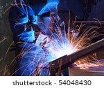 factory welder | Shutterstock . vector #54048430