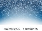 snow background with lightning. ...   Shutterstock .eps vector #540503425