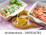 healthy nutrition plan. fresh...   Shutterstock . vector #540516781