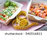 healthy nutrition plan. fresh...   Shutterstock . vector #540516811