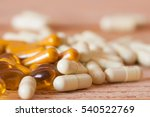 herbal medicine and fish oil in