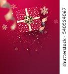 3d rendering happy new year... | Shutterstock . vector #540534067